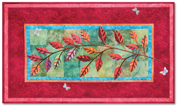Indian Summer (Pattern Available) ©2009 Rochelle Stibb