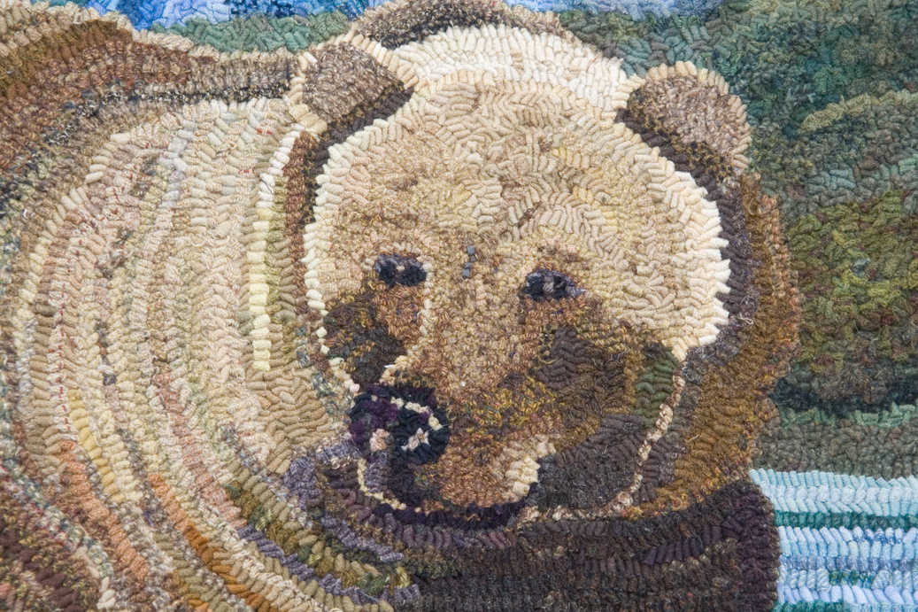 Mama Bear and Cubs — Detail 1