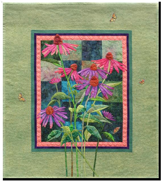 Prairie Garden (Pattern Available) ©2009 Rochelle Stibb